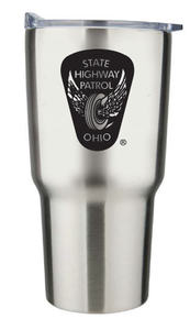 "30 Oz. Stainless Steel ""Trekker"" Travel Tumbler"